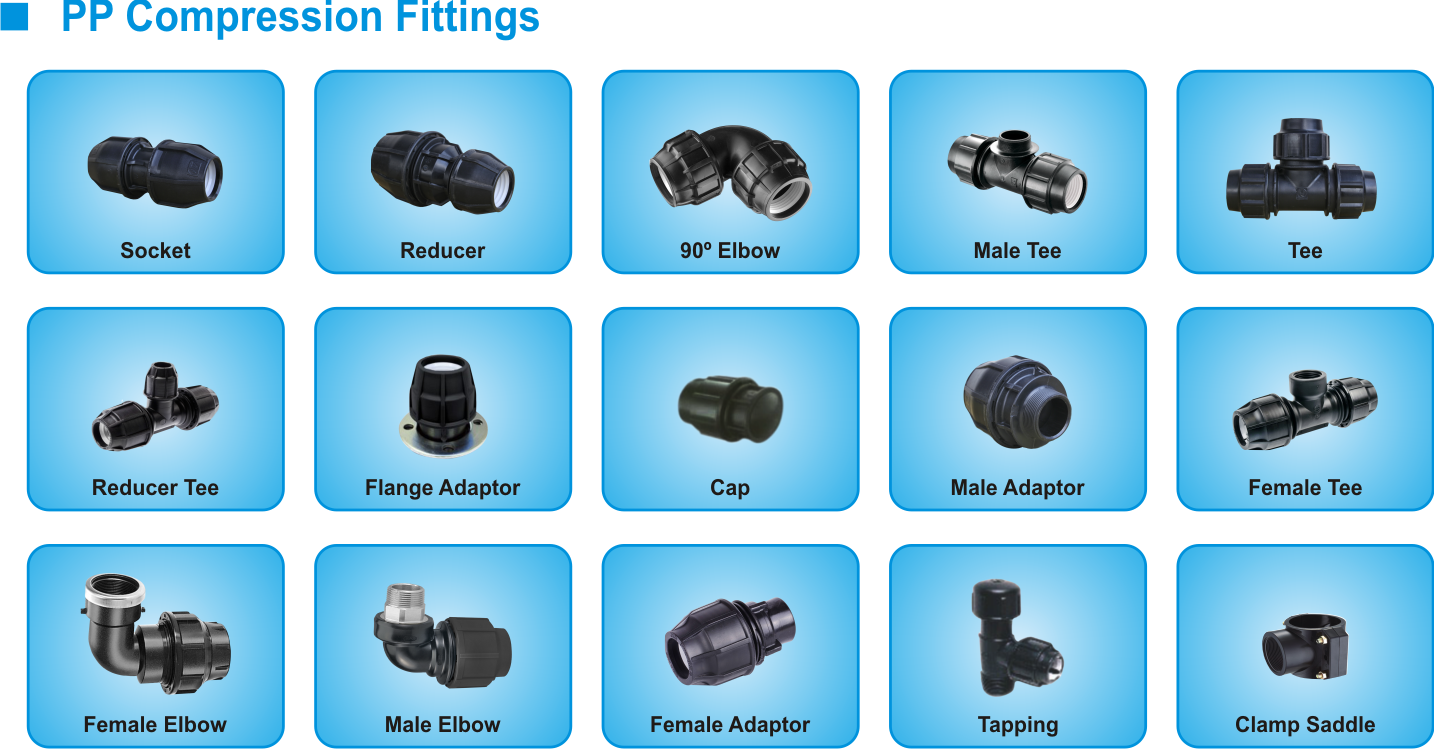 catalog pp compression fitting